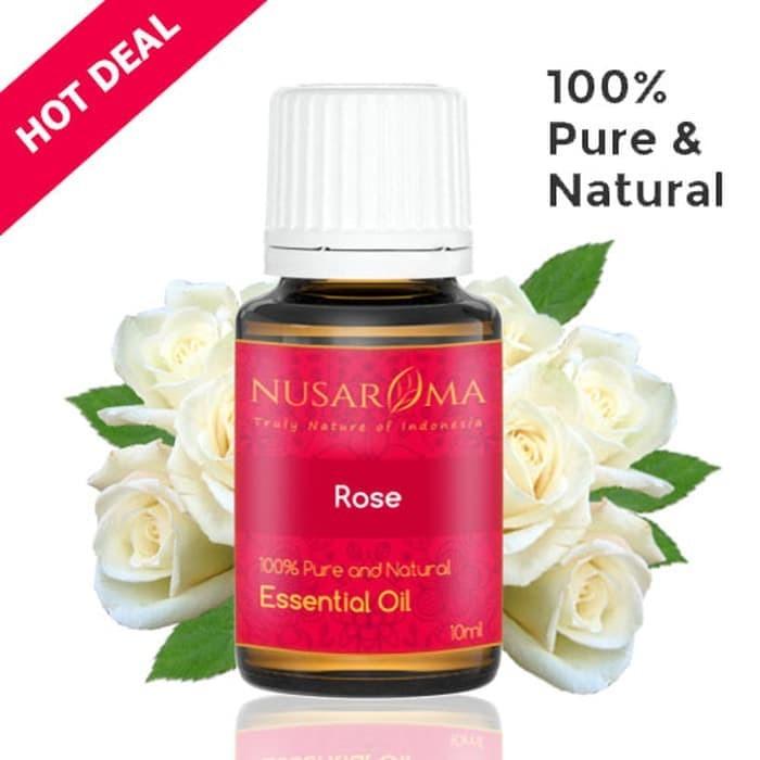 Foto Produk Rose Essential Oil (Minyak Mawar) 5 ml | 100% Pure & Natural dari vanshop88