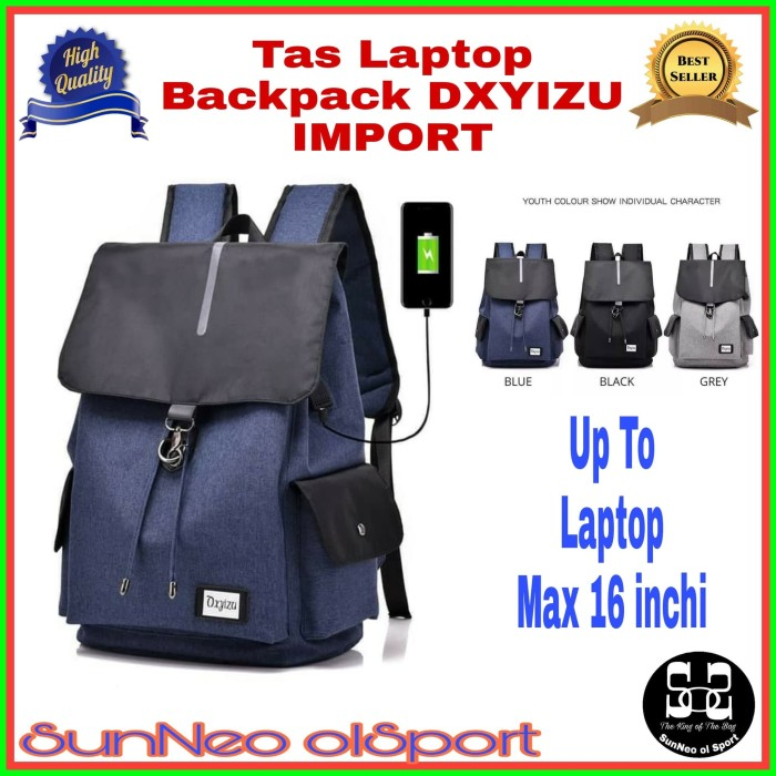harga Tas laptop 15 inchi backpack wanita pria tas ransel anak remaja promo Tokopedia.com