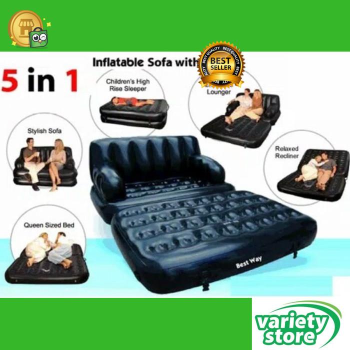 harga Sofa multifungsi portable kursi 5 in 1 sofa bed sofa matras tidur Tokopedia.com