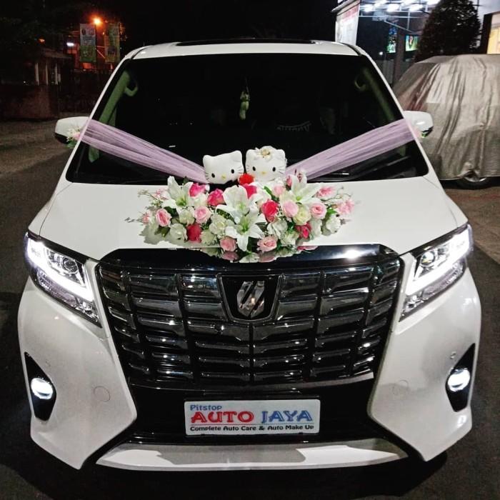 Jual Alphard Kitty Wedding Car Accesoriehiasan Mobil Pengantinbunga Kota Tangerang Flavour Zone Tokopedia