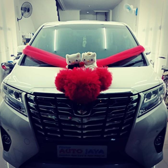 Jual Kittyi Pom U Wedding Car Accesorieshiasan Mobil Pengantinbunga Kota Tangerang Flavour Zone Tokopedia