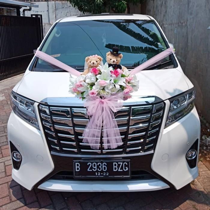 Jual Alphard Bear Couple Wedding Car Accesoriehiasan Mobil Pengantinbunga Kota Tangerang Flavour Zone Tokopedia