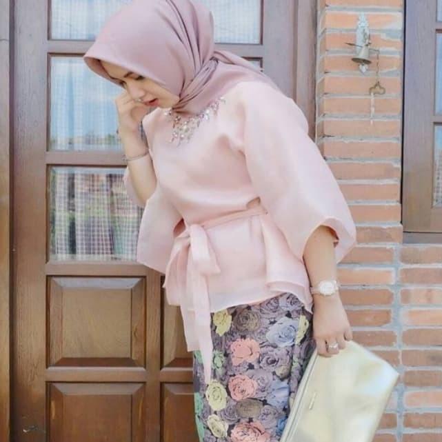 Jual Bahan Kain Organza Kaca/Premium Bahan Jilbab Dan Kombinasi ...