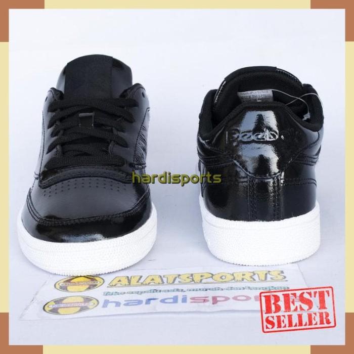 c2eea575500e Jual Sepatu Sneaker Wanita Reebok Club C 85 Patent BS9777 - Black ...