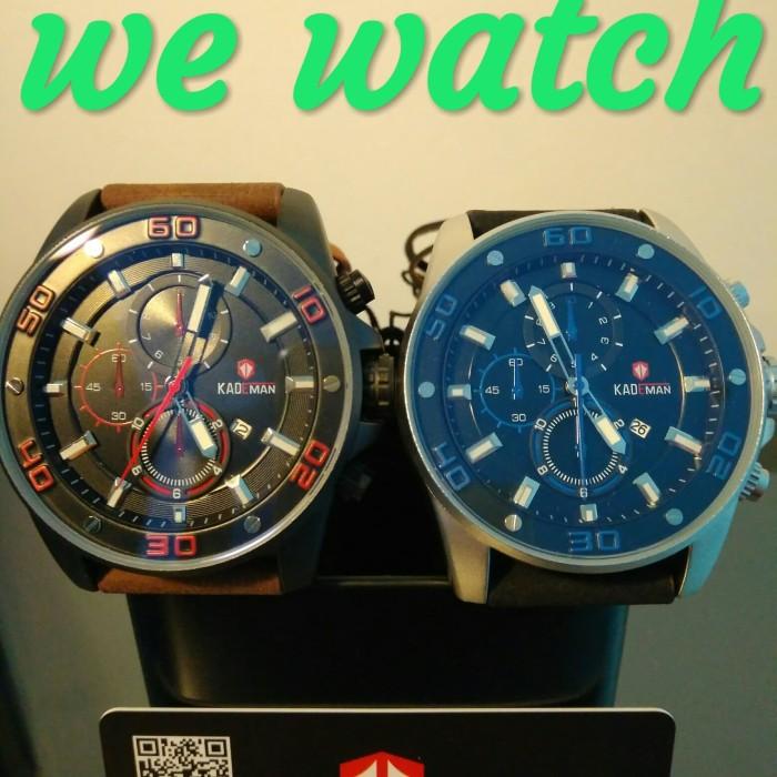 harga Jam tangan pria original kulit kademan 6076g water resist Tokopedia.com