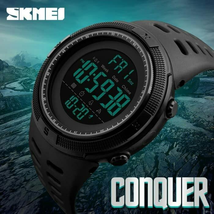 harga Jam tangan pria sport skmei 1251 original anti air 50m / suunto eiger Tokopedia.com