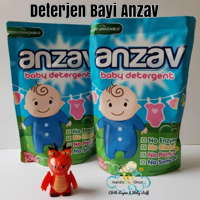 Foto Produk deterjen bayi Anzav cocok tuk clodi pakaian bayi kulit sensitif - packing koran dari imelda clodi shop
