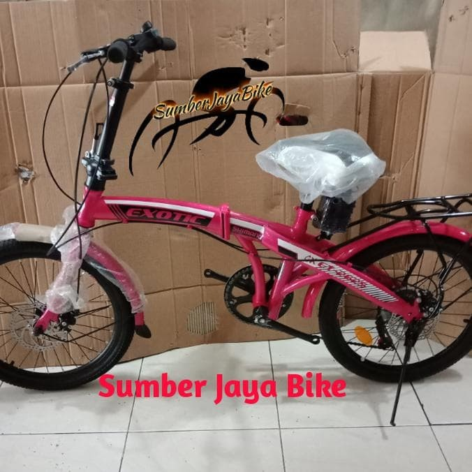 Info Sepeda Lipat Exotic Hargano.com