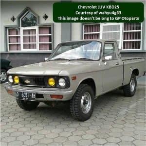 Jual Chevrolet Luv Kbd 25 Set Kampas Rem Depan Murah Hino