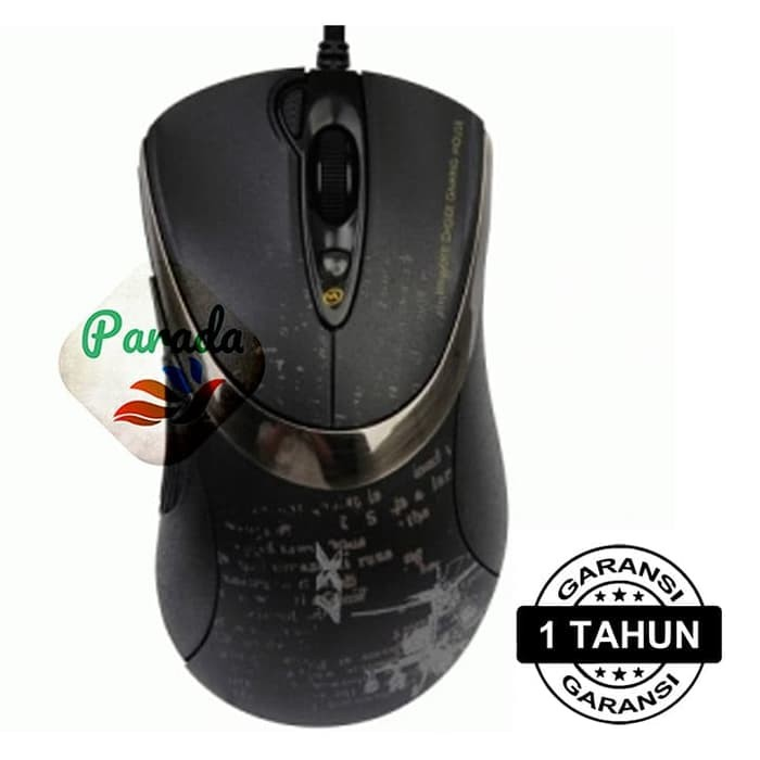 Mouse Gaming A4Tech X7 F4 V-Track Macro Onboard-Memory, Original