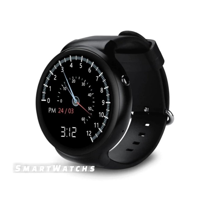 Jual IQI i4 Air Smartwatch Android 2Gb Ram 16GB Rom 3G GPS Amoled ...