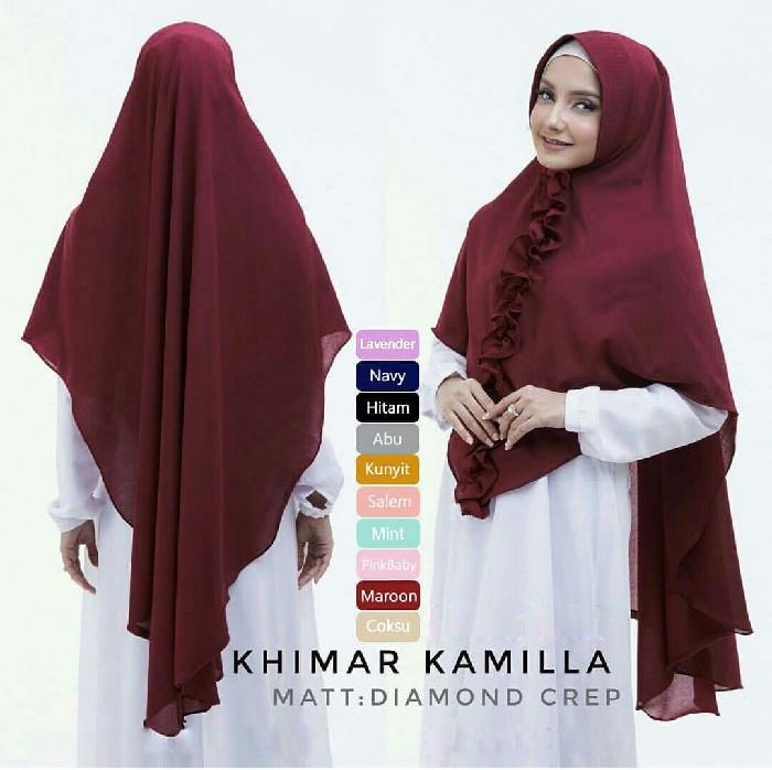Jual Hijab Jilbab Khimar Kamilla Hot Price Kota Bandung Hijabku Store Tokopedia