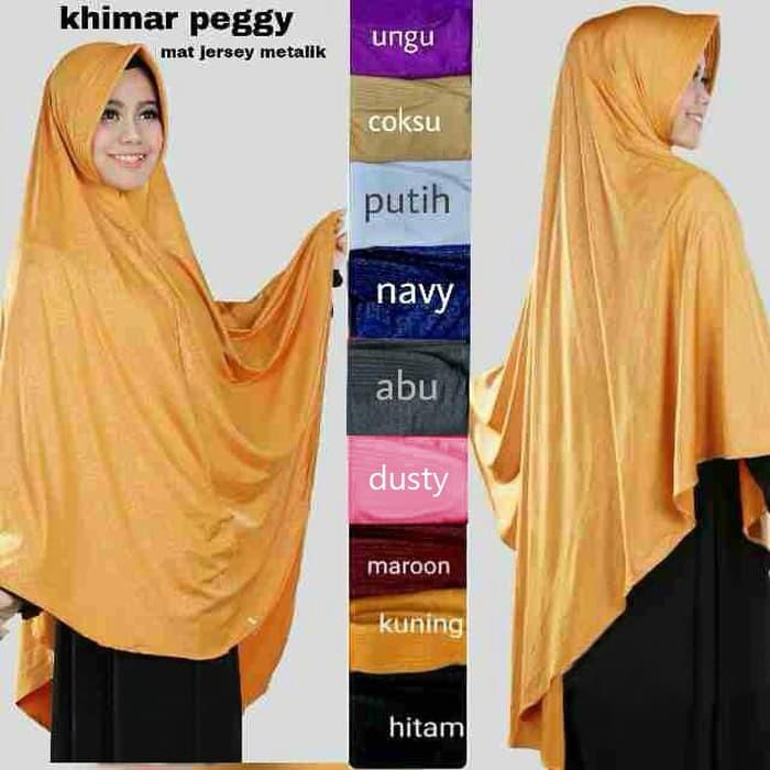 Jual Hijab Jilbab Khimar Peggy Hot Price Kota Bandung Hijabku Store Tokopedia