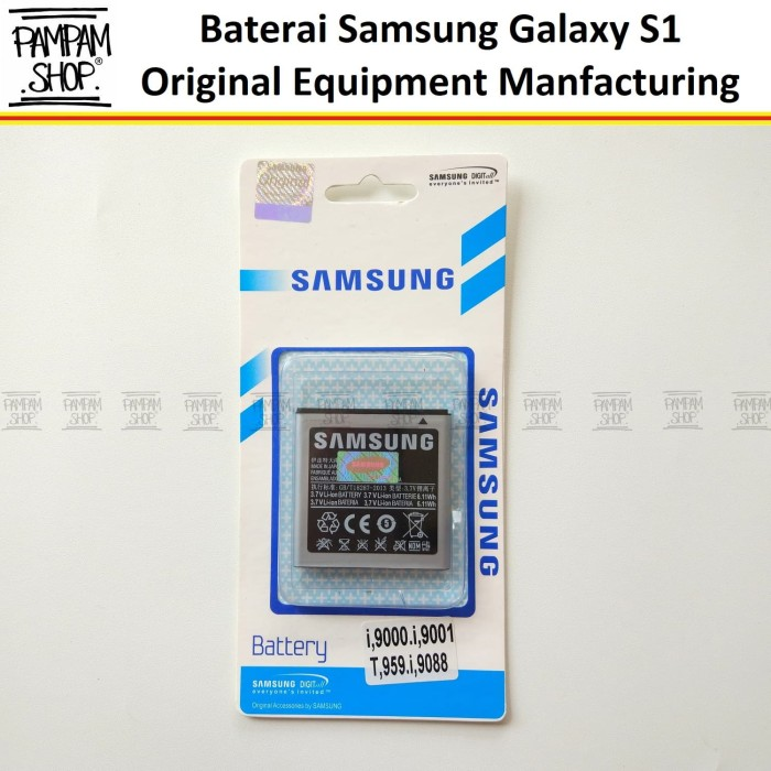 harga Baterai handphone samsung galaxy sl i9003 original   battery sein hp Tokopedia.com
