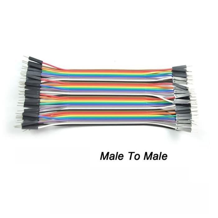 Foto Produk Kabel Jumper Male-Male Breadboard Arduino Wire Bread Board Cable AB70 dari Handphone Acc