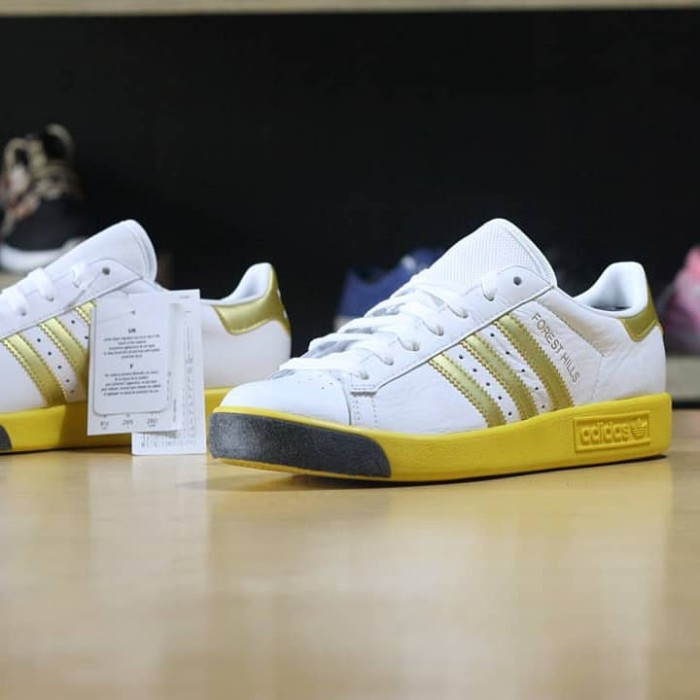 7118008f49ec7e Jual ADIDAS FOREST HILLS WHITE GOLD YELLOWs - hyperactivesneakers ...