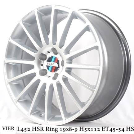 harga Velg hsr wheels vier l452 hsr r19x8.9 h5x112 et45.54 hs Tokopedia.com