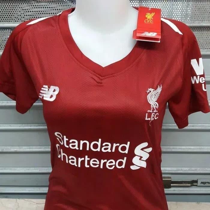 cffb05189 Jual Jersey Liverpool Home Ladies 18 19 Grade Ori - 2-Shop