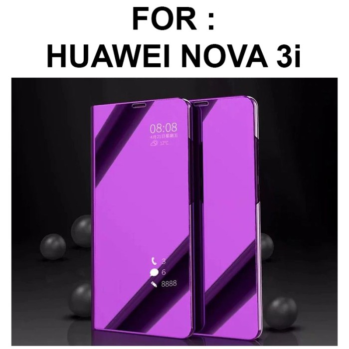detailed look 80213 8bc35 Jual Case Huawei Nova 3i casing hp mirror auto lock FLIP COVER SVIEW STAND  - Jakarta Barat - Case Pedia | Tokopedia