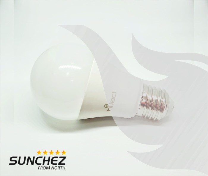 harga Lampu bohlam led hiled bulb 13 watt white / natural white Tokopedia.com