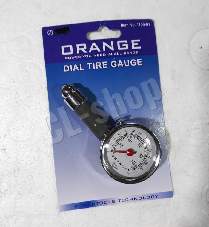 harga Alat ukur pengukur isi tekanan angin ban motor model jam bodi besi Tokopedia.com