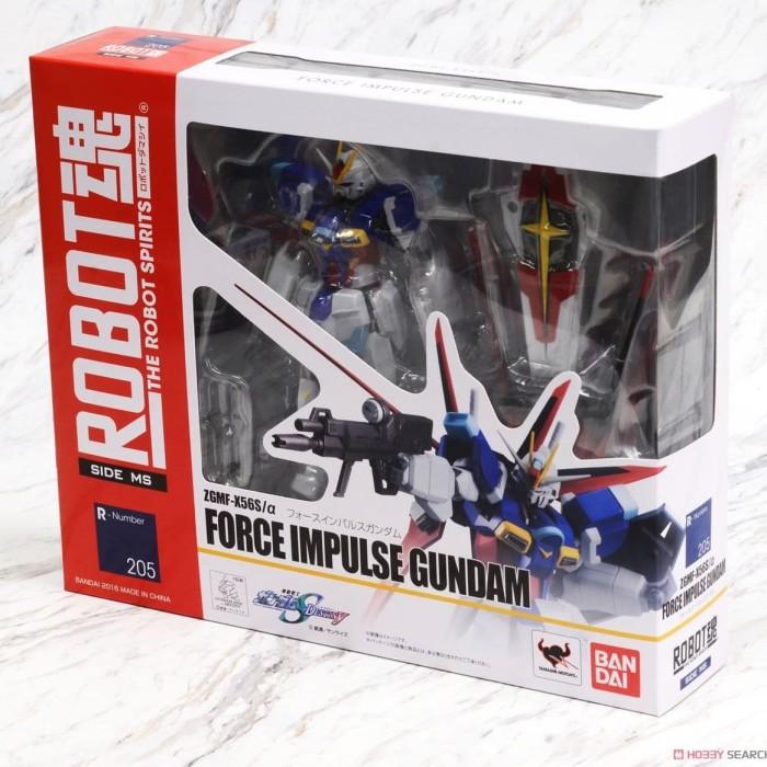 harga Robot damashii 205 force impulse gundam seeds side ms roda bandai Tokopedia.com