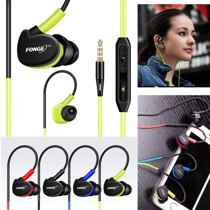 Ear Sport Original FONGE Bass Over Ear Design Headset