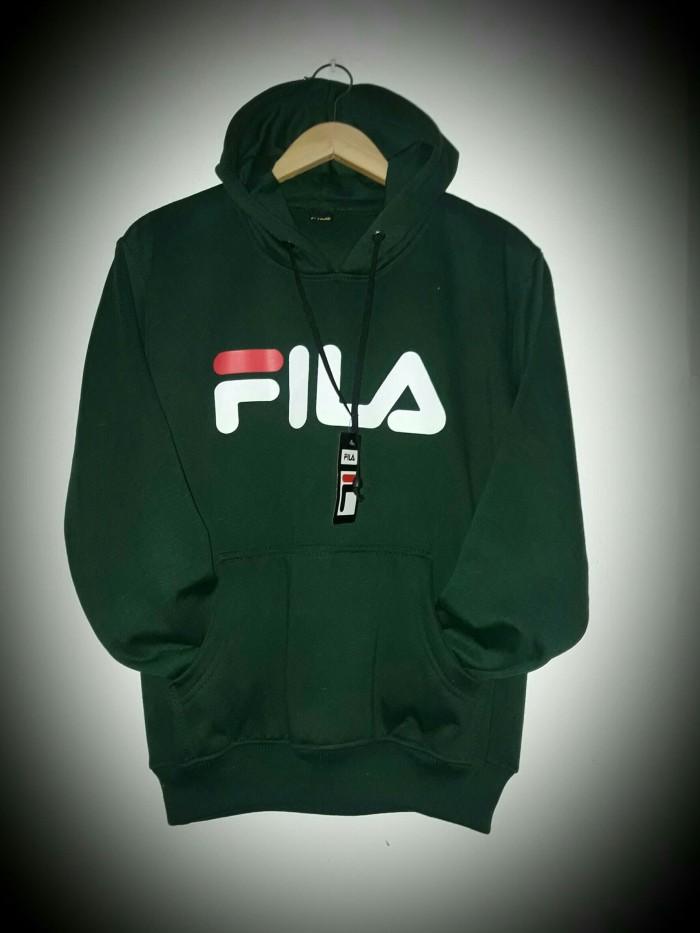 Jual jaket fila green hoodie - sweater fila hijau distro - jaket ... 67dabfdbcb