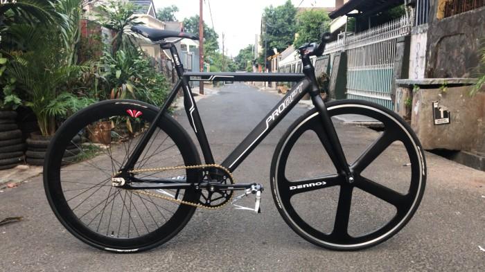 harga Fullbike sepeda fixie viva prompt v3 + dennos Tokopedia.com