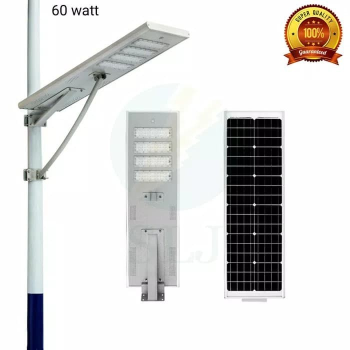 60 Watt Lampu Pju Solar Cell