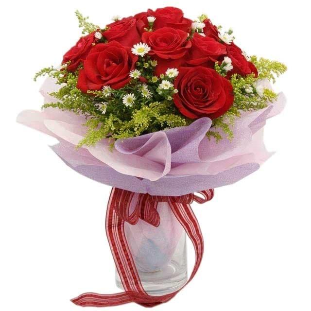harga Blaze of roses - bunga buket / hand bouquet Tokopedia.com