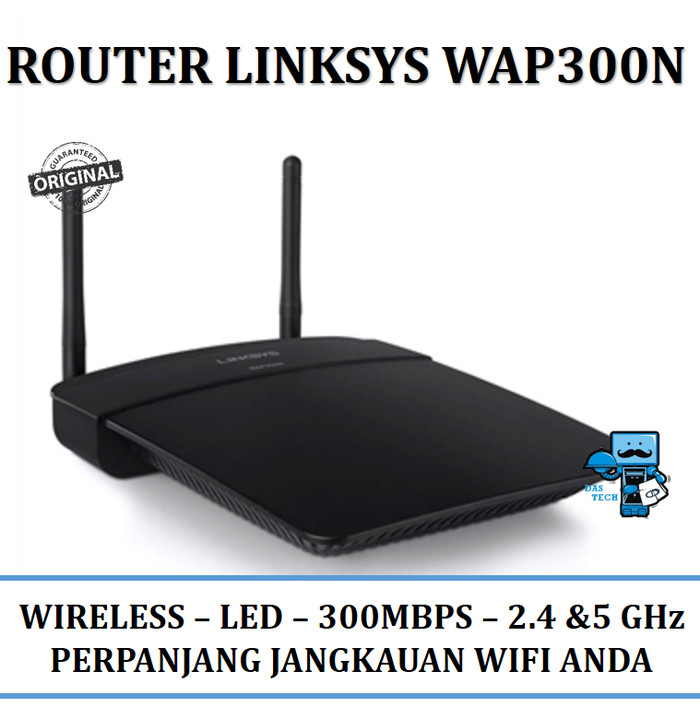 harga Router linksys wap300n wireless access point dual band 300mbps Tokopedia.com