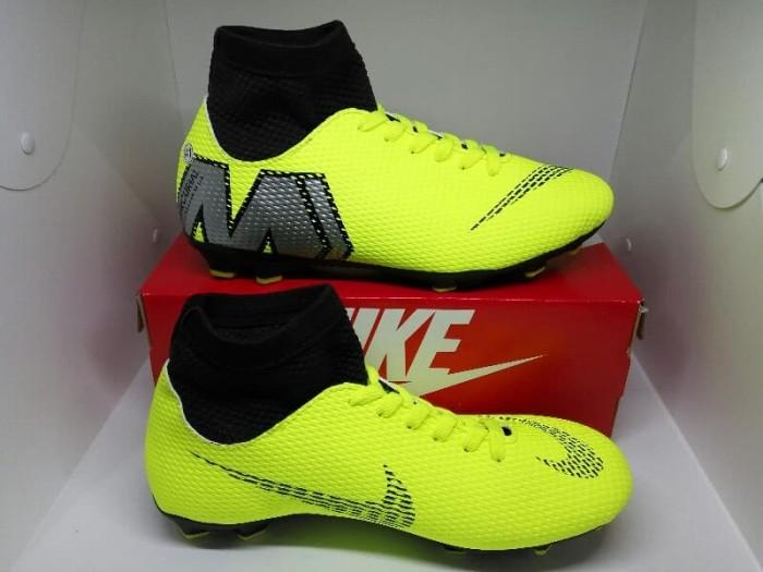 2e865ed0d7ca6 Sepatu Bola Nike Mercurial Superfly 6 Boots Stabilo MURAH - Hijau muda