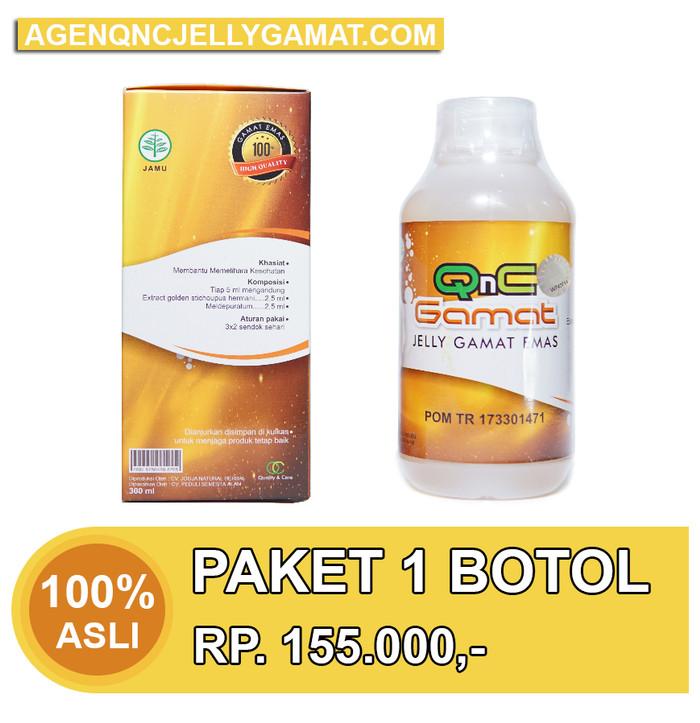 Foto Produk QnC Jelly Gamat Asli (Paket 1 Botol) dari Kang Heru