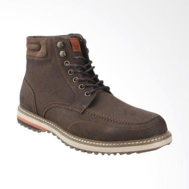 Jual Bata Crocker Sepatu Pria Brown Kota Kediri Quick