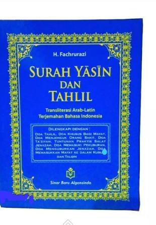 Jual Buku Surat Yasin Dan Tahlil Terjemah Dan Tulisan Latin Dki Jakarta Sahila Book Store Tokopedia