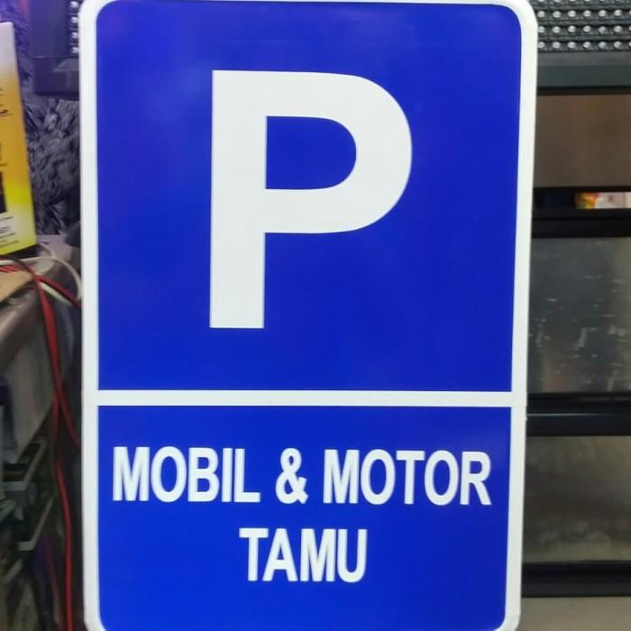 27+ Gambar Tulisan Parkir Motor - Gambar Tulisan