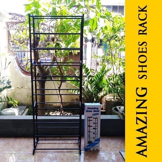 Portable Amazing Shoe Rack - Rak Sepatu 10 Susun