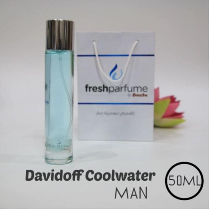 Jual Murah Parfum Refil Davidoff Coolwater Man 50ml Kota Bandung
