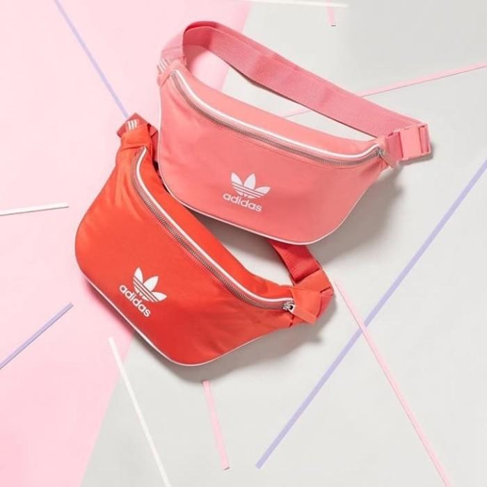b0fc487698b Jual Adidas Waist Bag Trace Scarlet premium mirror - Putih ...