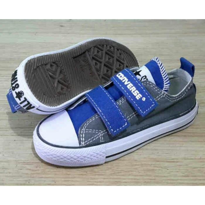 Jual Sepatu Converse Kid tanpa tali perekat  Converse Anak Anak ... e7edc1cc8b