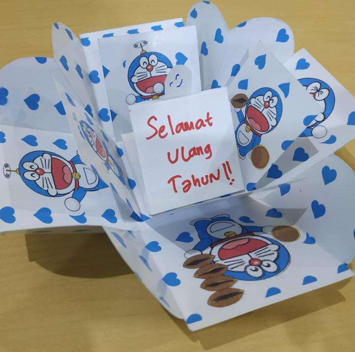 Jual Hadiah Ulang Tahun Spesial Explosion Popup Box Lucu Unik