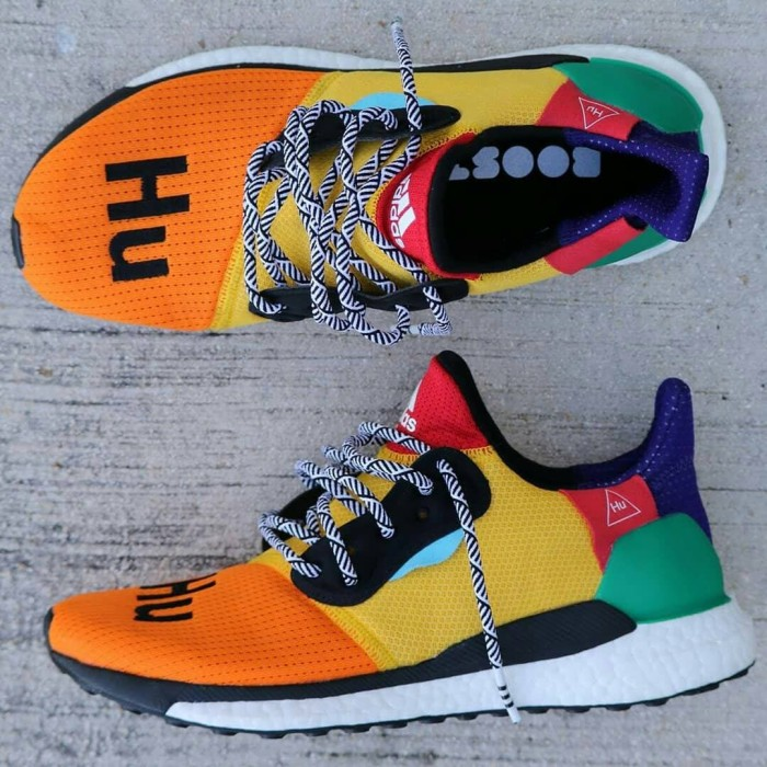 ece3e5f8eba7b Jual Pharrell Williams X Adidas Solar HU Glide