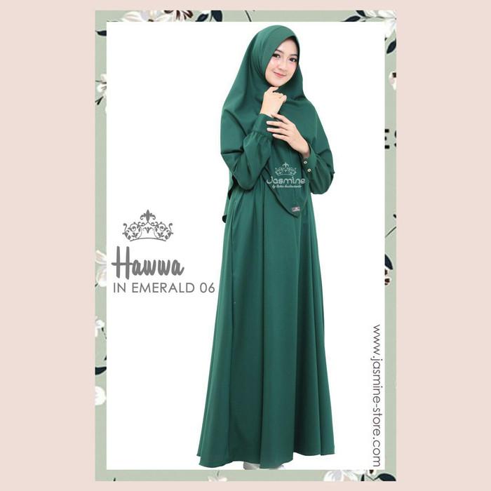 Jual Gamis Syari Polos Hawwa By Jasmine Size Xs Bahan Toyobo