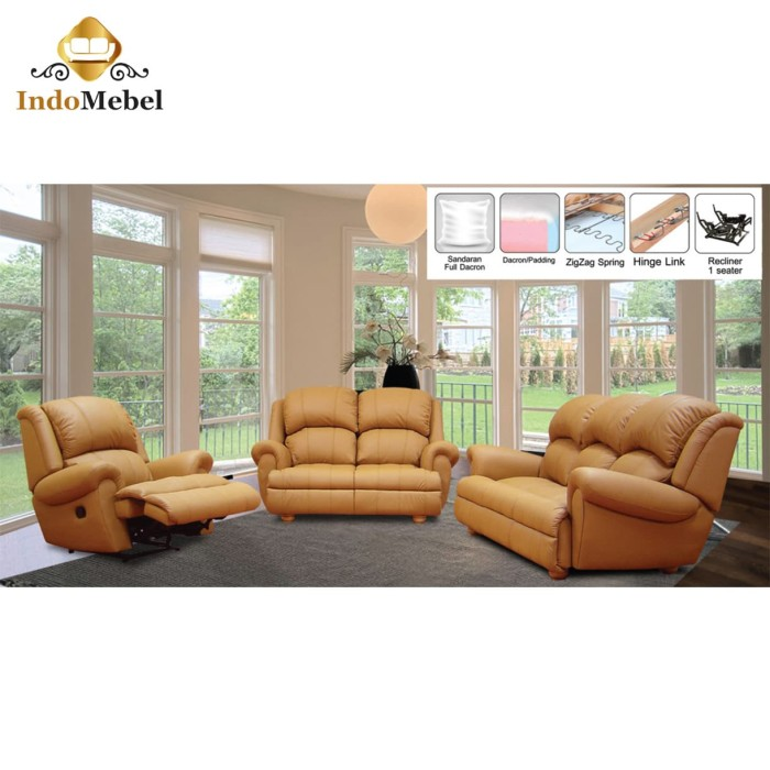 Jual Sofa Recliner Medan Taraba Home Review