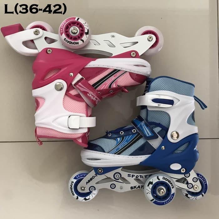 Jual MURAH Sepatu Roda Anak Power Inline Skate POWER SUPERB Model ... 917717c827