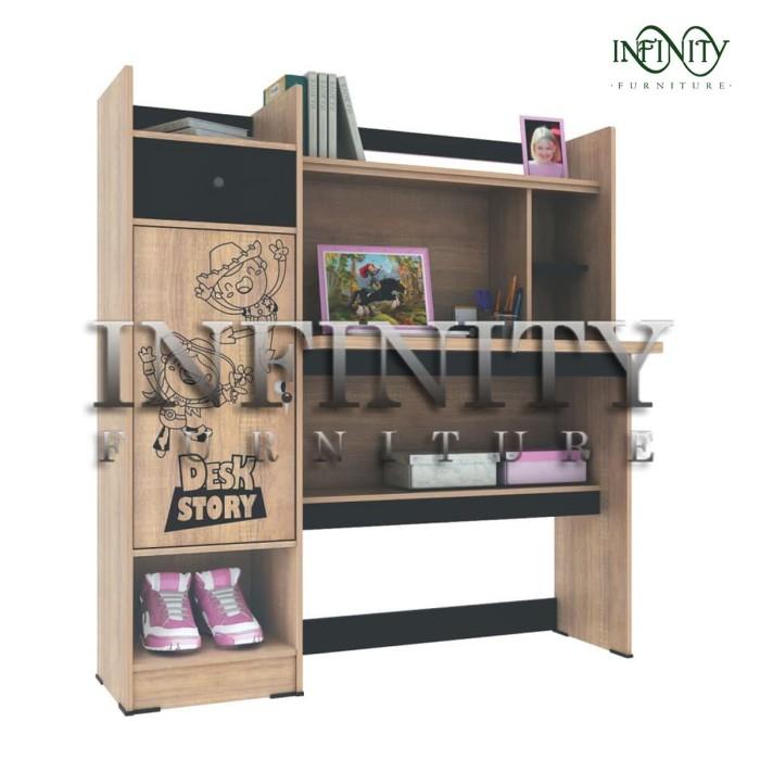Jual Meja Belajar Mb 0608 Sob Kota Tangerang Infinity Furniture Tokopedia