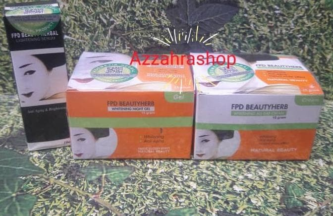 Paket FPD Cream Original (Day Cream, Magic Glossy, Serum Vege Herbal)