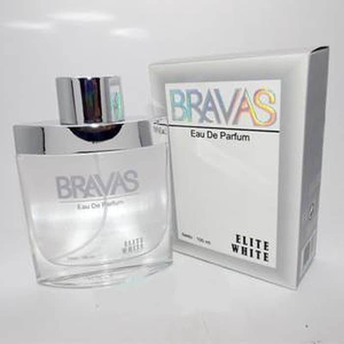 Jual Terlaris Bravas Elite White Ori Brand Lokal Parfum Wanita Terdaftar Harga Rp 40.000