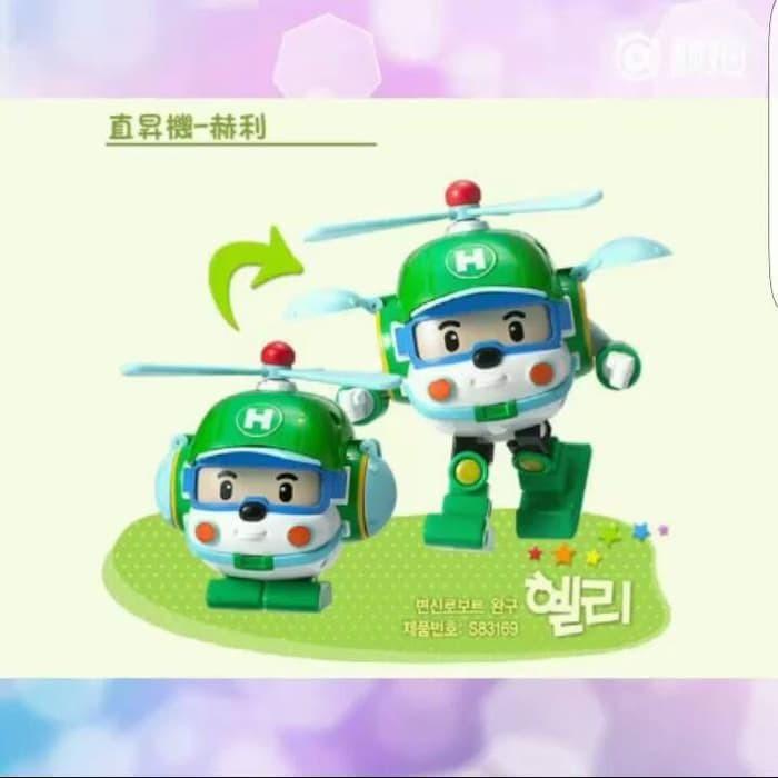 Terlaris Mainan Poli Robocar Transform Robot Car